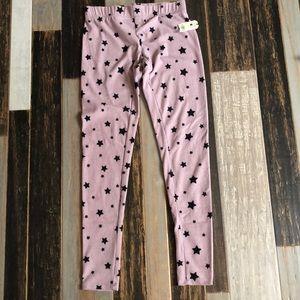 purple star pj pants